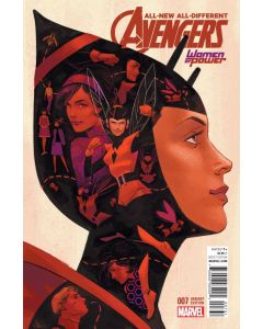 All-New All-Different Avengers (2015) #   7 WOMEN OF POWER VARIANT (9.2-NM)