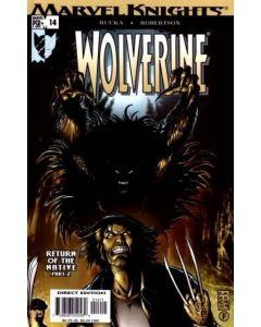 Wolverine (2003) #  14 (8.0-VF)