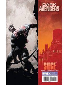 Dark Avengers (2009) #  15 (9.0-VFNM) Siege