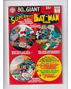 80 Page Giant (1964) #  15 (4.0-VG) (1383809) Superman Batman