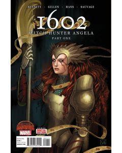 1602 Witch Hunter Angela (2015) #   1-4 (9.0-VFNM) Complete Set