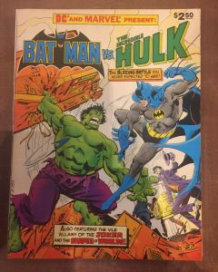 DC Special Series (1981) #  27 (6.5-FN+) (1123658) Treasury Batman vs. The Incredible Hulk