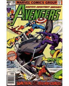 Avengers (1963) # 190 Newsstand (7.0-FVF) John Byrne