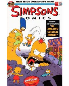 Simpsons Comics (1993) #   1 (8.0-VF) WITH POSTER