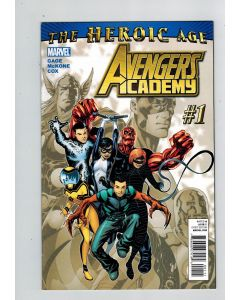 Avengers Academy (2010) #   1 (8.5-VF+) (1133077) 1st appearance Hazmat, Finesse