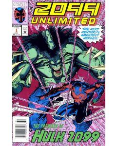 2099 Unlimited (1993) #   1-10 (8.0-VF) Complete Set