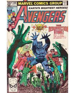 Avengers (1963) # 209 UK PRICE (7.0-FVF)