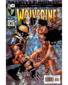 Wolverine (2003) #  21 (6.0-FN)