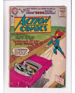 Action Comics (1938) # 221 (2.5-GD+) (1328411)