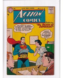 Action Comics (1938) # 225 (5.0-VGF) (1328442)