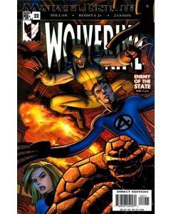 Wolverine (2003) #  22 (8.0-VF)