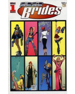 22 Brides (1996) #   1-4 + 4B (7.0/9.0-FVF/NM) Complete Set 1st Painkiller Jane