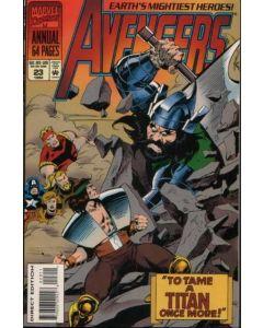 Avengers (1963) ANNUAL #  23 (9.0-VFNM)