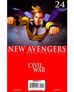 New Avengers (2005) #  24 (7.0-FVF) Civil War