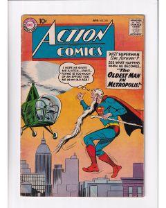 Action Comics (1938) # 251 (5.0-VGF) (1328794) 1st Supergirl Ad