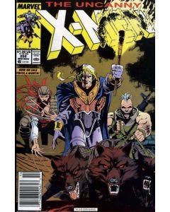 Uncanny X-Men (1963) # 252 Mark Jewelers (7.0-FVF)