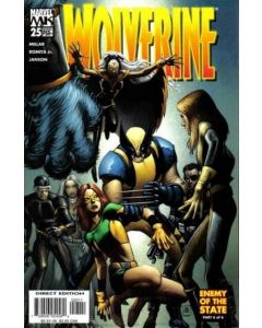 Wolverine (2003) #  25 (8.0-VF)