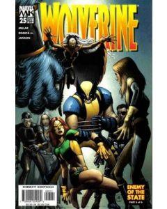 Wolverine (2003) #  25 (9.0-NM)