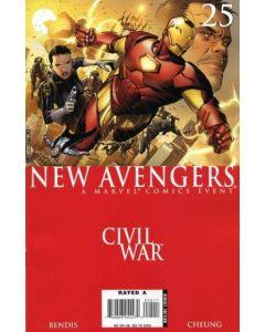 New Avengers (2005) #  25 (8.0-VF) Civil War