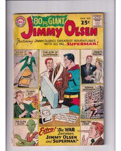 "80 page Giant (1964) #   2 (1.5-FRG) (1383557) Jimmy Olsen 4"" Spine Split"