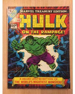 Marvel Treasury Edition (1974) #   5 UK PRICE (6.0-FN) (1187742) Hulk