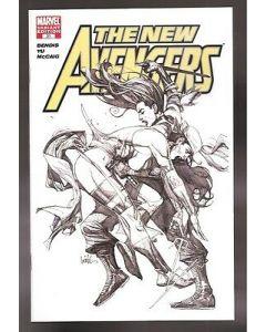 New Avengers (2005) #  31 (7.0-FVF) 'NOT FOR RESALE' SKETCH VARIANT