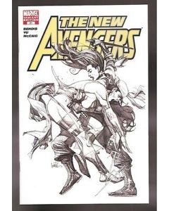 New Avengers (2005) #  31 (8.0-VF) 'NOT FOR RESALE' SKETCH VARIANT