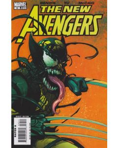 New Avengers (2005) #  35 (8.5-VF+) VENOMIZED WOLVERINE COVER