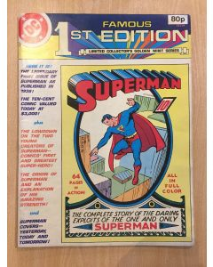 Famous First Edition Superman (1979) #   C-61 UK (6.0-FN) (1186622) TREASURY SIZE