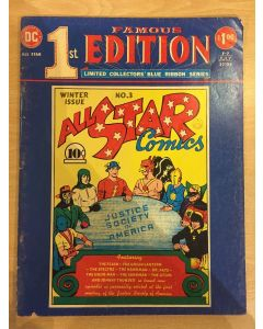 Famous First Edition All Star Comics (1975) #   F-7 (4.0-VG) (1186295) TREASURY SIZE