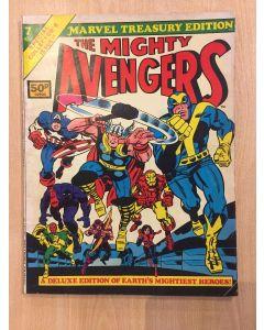 Marvel Treasury Edition (1974) #   7 UK PRICE (5.0-VGF) (1187759) Avengers