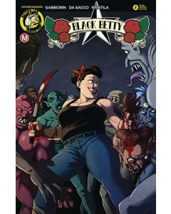Black Betty (2018) #   3 LIMITED EDITION VARIANT (9.4-NM)
