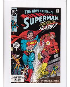 Adventures of Superman (1987) # 463 (7.0-FVF) (1401343) Flash race