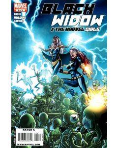 Black Widow & The Marvel Girls (2010) #   4 (9.0-VFNM)