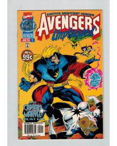Avengers Unplugged (1995) #   5 (7.0-FVF) (1219832) 1st appearance Photon (Monica Rambeau)