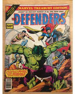 Marvel Treasury Edition (1974) #  16 UK PRICE (4.0-VG) (1479700) Defenders