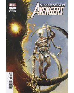 Avengers (2018) #   7 Crain Variant 1:50 (9.4-NM)