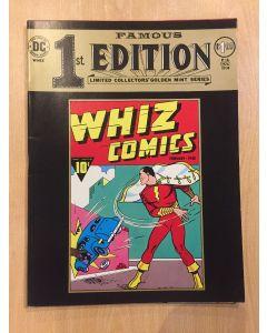 Famous First Edition Whiz Comics (1974) #   F-4 (7.0-FVF) (1185939) TREASURY SIZE