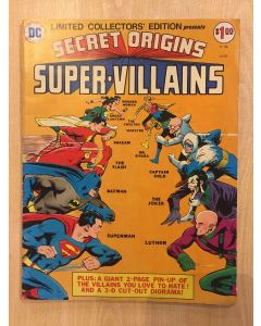 Secret Origins of Super-Villains (1975) #   C-39 (5.5-FN-) (1187063) DC Treasury Edition
