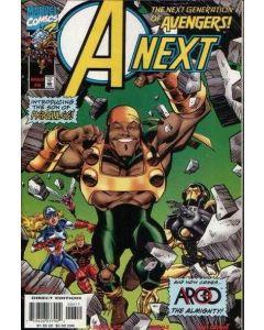 A Next (1998) #   6 (8.0-VF) 1st App. Argo Son of Hercules