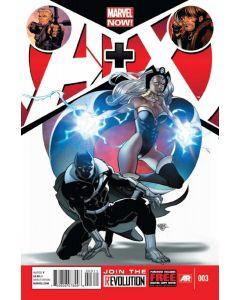 A Plus X (2012) #   3 Cover A (9.0-NM)
