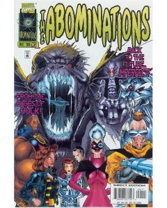 Abominations (1996) #   1-3 (9.0-VFNM) Complete Set