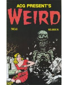 ACG Presents Weird (1999) #   1 pricetag on cover (6.0-FN)