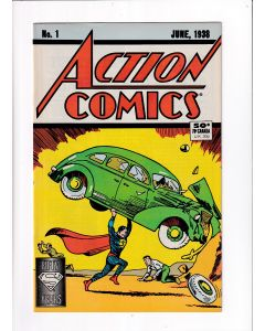 Action Comics (1938) #   1 1988 Reprint Edition (5.0-VGF)