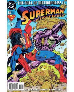 Action Comics (1938) # 701-710 (8.0/9.0-VF/NM) Complete Set Run