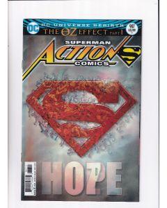 Action Comics (2016) # 987-991 3D Lenticular (9.0-NM) OZ Effect Complete Set Run