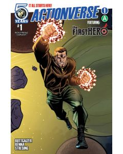 Actionverse (2015) #   1-6 Covers B (8.0/9.0-VF/NM) Complete Storyline Set