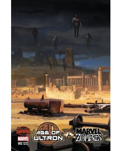 Age of Ultron vs Marvel Zombies (2015) #   2 Cover B 1:10 Variant (7.0-FVF)