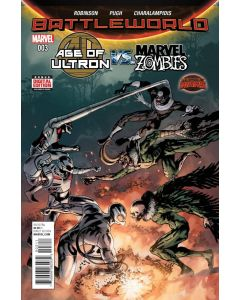 Age of Ultron vs Marvel Zombies (2015) #   3 Cover A (8.0-VF)