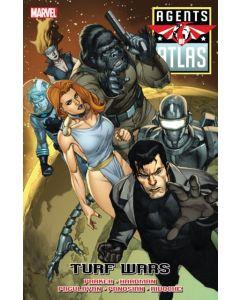 Agents of Atlas Turf Wars HC (2010) #   1 1st Print (9.0-VFNM)
